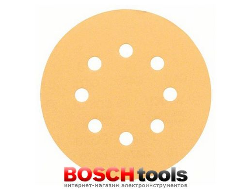 Шлифлист Bosch best for Wood and Paint C470, Ø 125 P.120, 1 шт.