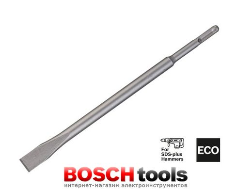Зубило Bosch SDS-plus 250 мм ECO, 1 шт.